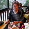 Cl 0110 in het restaurant van Cascada de las Animas