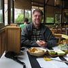 Cl 0433 in het restaurant van Cascada de las Animas