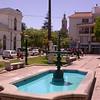 Cl 1583 fontein bij Iglesia Santo Domingo in La Serena