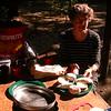 Cl 4623 op de camping van Cascada de las Animas