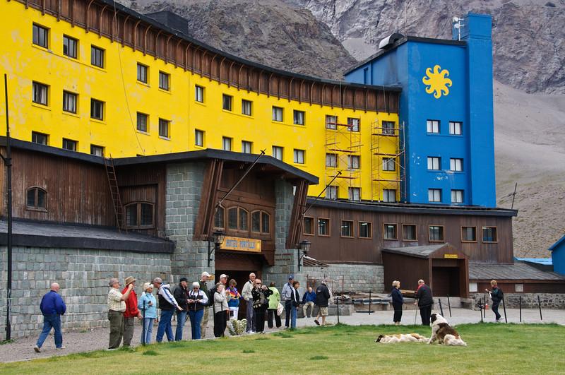Portillo Ski Resort in Chilean Andes