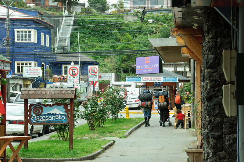 """Puerto Varas, Chile """"City of Roses"""""""