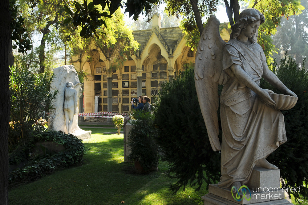A Peaceful Moment at Cementerio General - Santiago, Chile