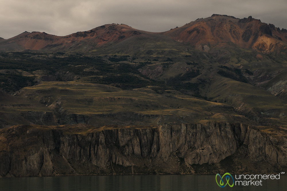 Landscape in Northern Patagonia - Chile Chico, Chile