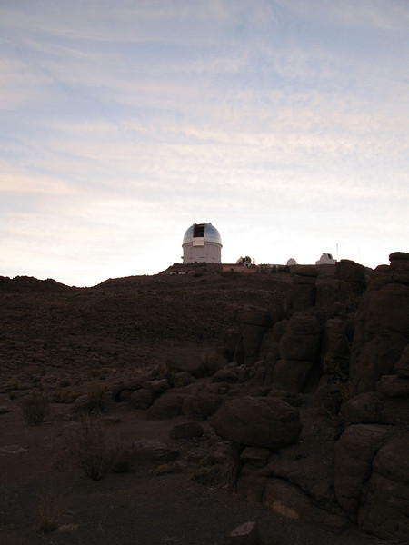 View of the 4m telescope