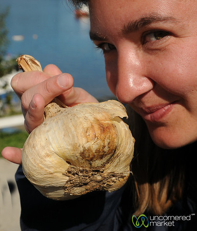 Time to Smell the Garlic - Chiloe Island, Chile