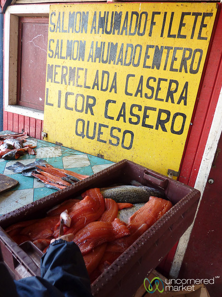Freshly Smoked Salmon - Castro, Chile