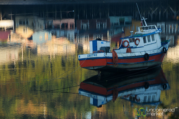 Early Morning Reflections - Chiloe Island, Chile