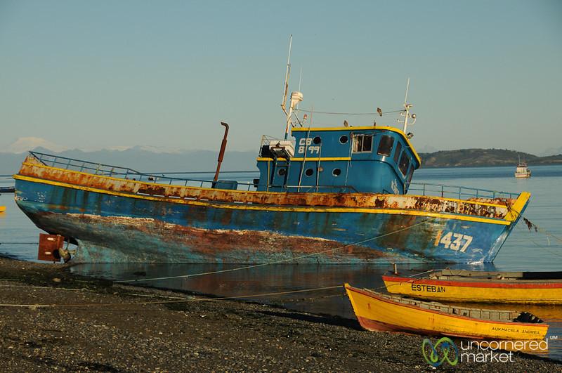 Rusting Away - Tenaún, Chile