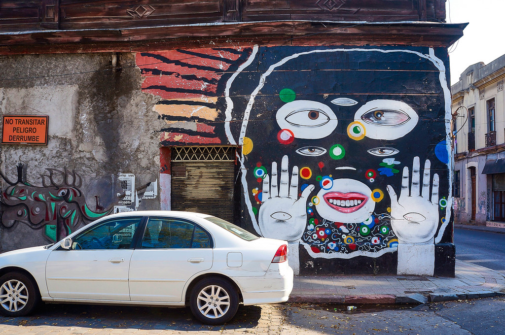 Street Art in Santiago: Azucar