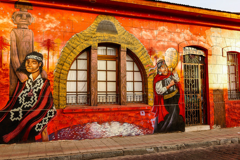 Street art in Santiago, Chile