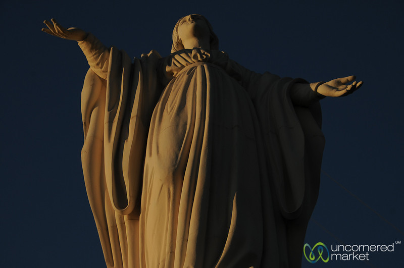 Virgin Mary at Cerro San Cristóbal - Santiago, Chile