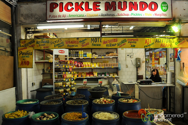 Pickle World at La Vega Market - Santiago, Chile