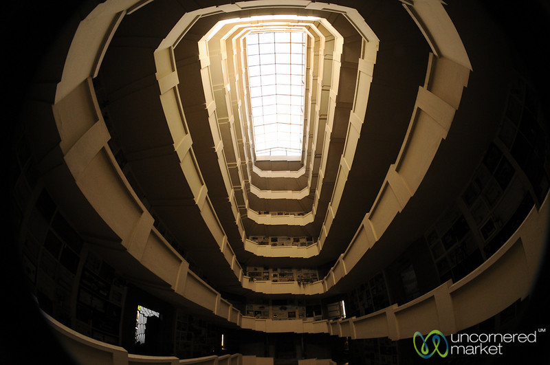 Italian Society's Mausoleum  - Cementario General in Santiago, Chile