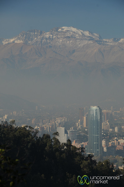 Santiago at the Foot of the Andes - Chile