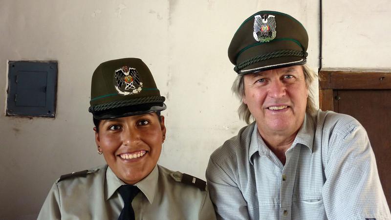 Museum Guard, Sucre Bolivia