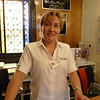 Fanny our receptionaist at our Apt. Hotel in Santiago