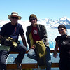 Great Swiss couple at at Perito Moreno glacier, Argentina