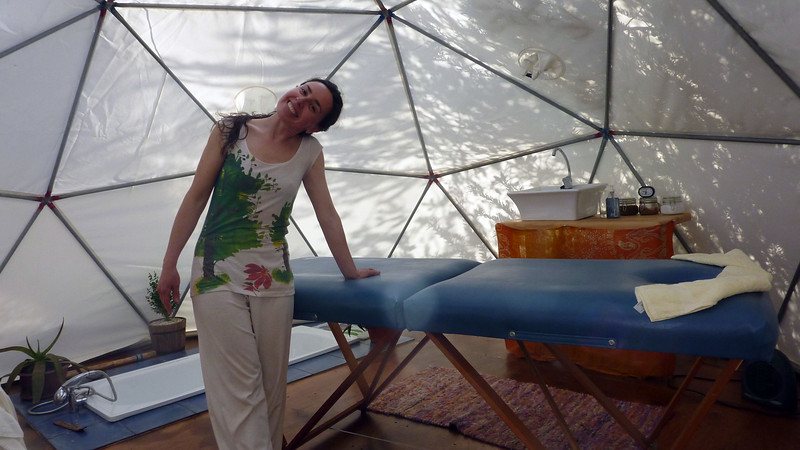 Massage in Puerto Natalales before the cruise
