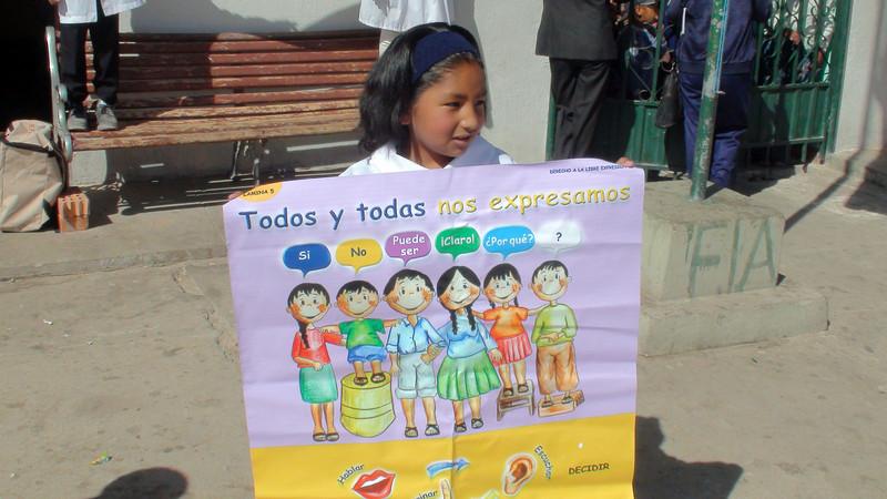 Bolivia school kid