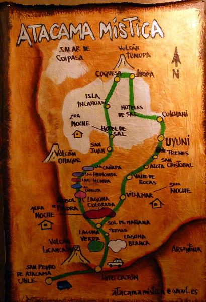 3 day tour to Uyuni