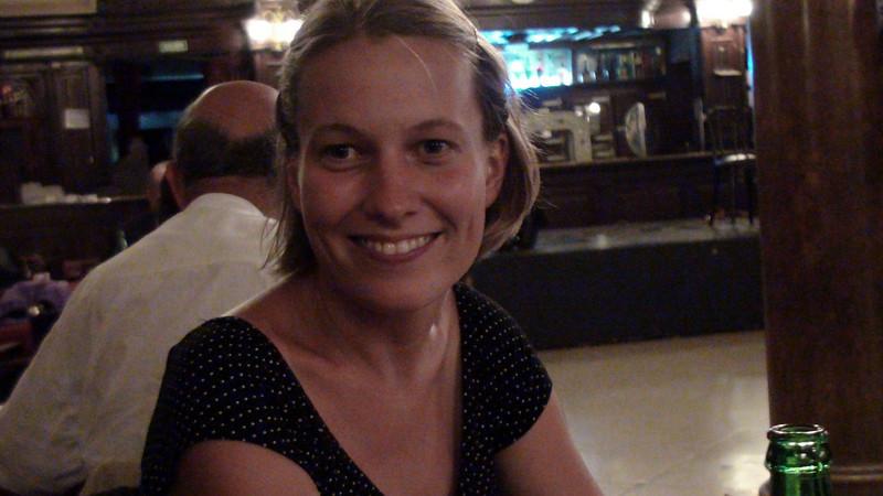 Masa at tango night in B.A.