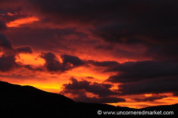Sunrise Colors - Torres del Paine National Park, Chile