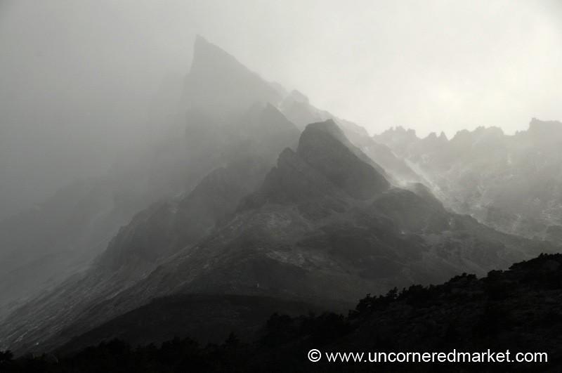 Mysterious Mountain Vistas - Torres del Paine National Park, Chile