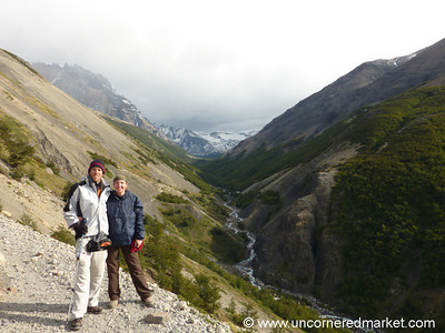 On Our Way Down - Torres del Paine National Park, Chile