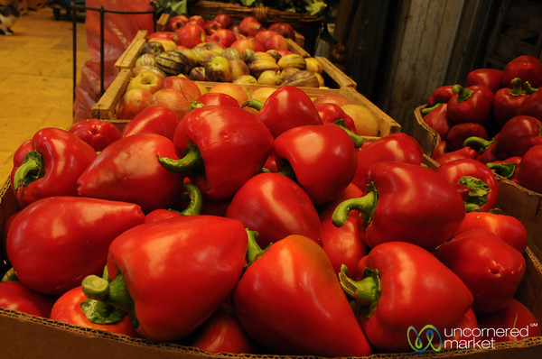 Piles of Peppers - Valparaiso, Chile