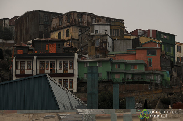Houses on the Hill - Valparaiso, Chile