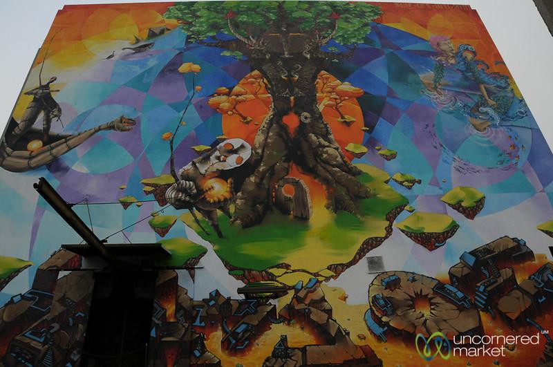 Mother Earth - Valparaiso, Chile
