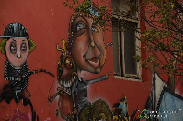 Valparaiso Street Art - Chile