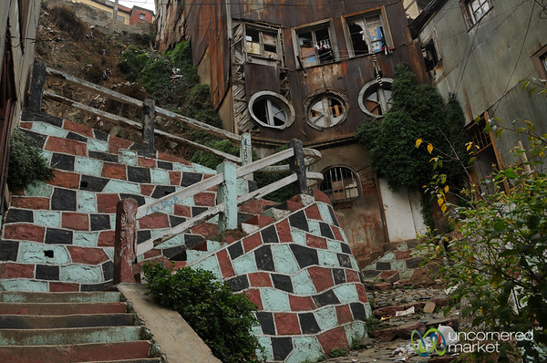 Valparaiso Architecture - Chile