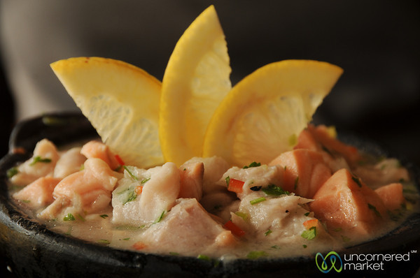 Chilean Ceviche in Valparaiso