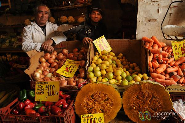 Family Business at Mercado Cardonal in Valparaiso, Chile