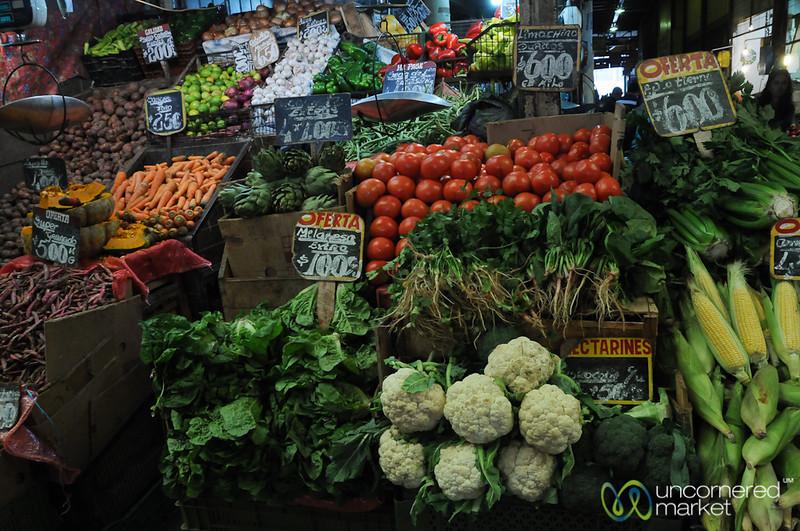 Market Scene in Valparaiso, Chile