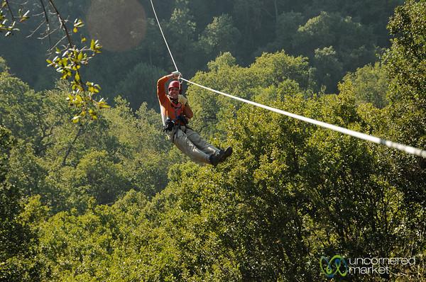 Dan Zip Lining in Maipo Alto, Chile