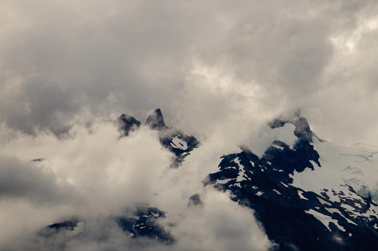 Lago General Carrera Mountain Tops