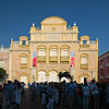 Teatro Heredia during the Hay Literary Festival Cartagena