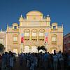 Teatro Heredia during the Hay Literary Festival Cartagena