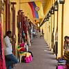 yellow arcade Cartagena