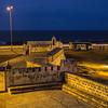 city wall & sea twilight Cartagena