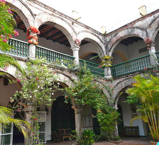 La Candaleria Convent in Cartagena, Colombia