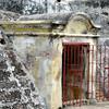 Passage to hidden tunnel in San Felipe Fortress