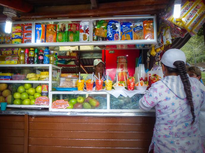 bogota fruit vendor