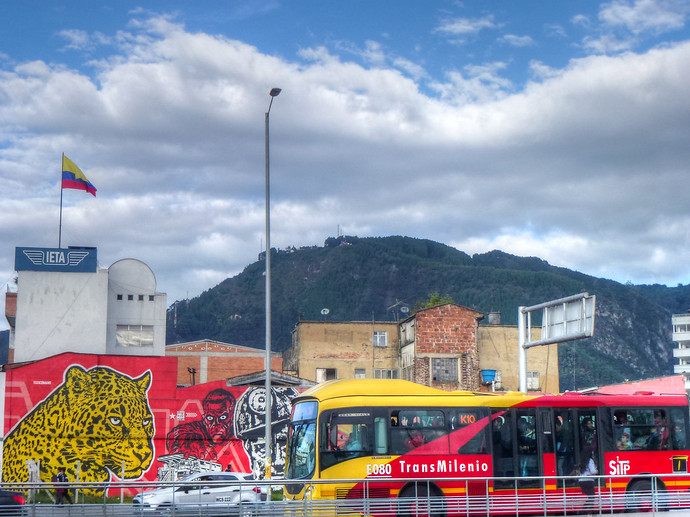 bogota highway colombia