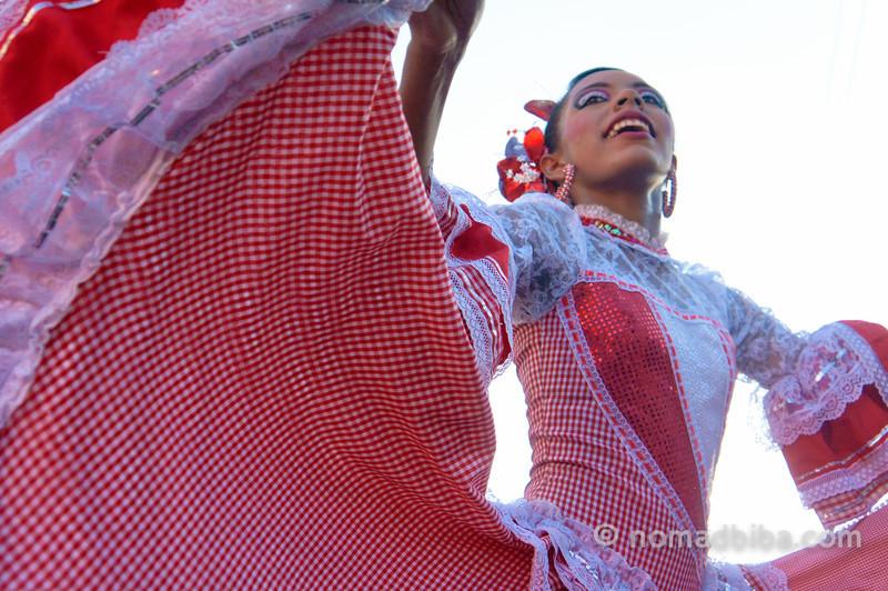 Dancer at Joselito's burial 2013