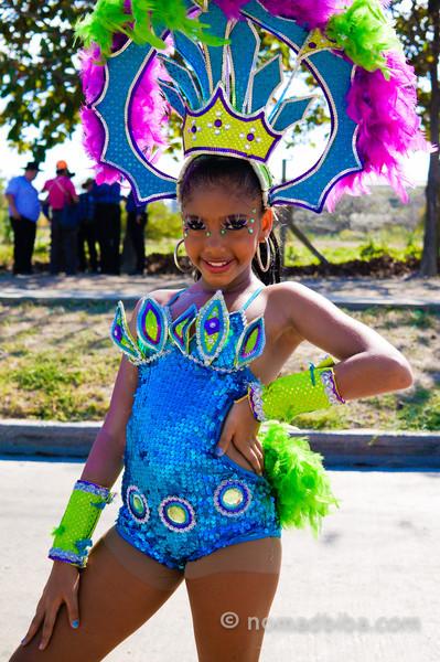 Girl at Batalla de Flores 2013