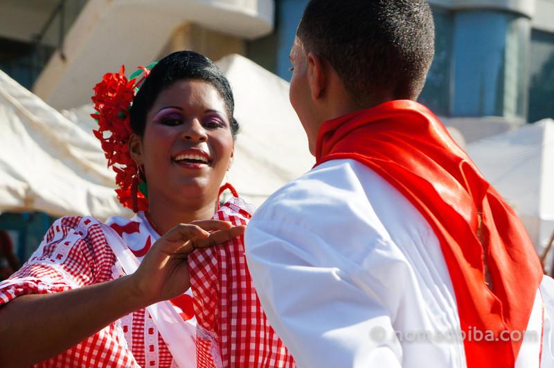 Dancing at Joselito's burial